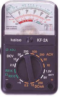 指针式模拟万用表KF-2A