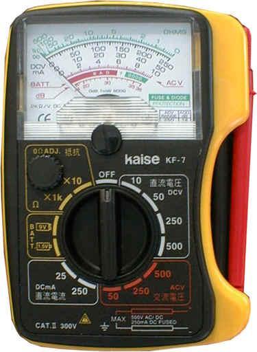 指针式模拟万用表KF-7