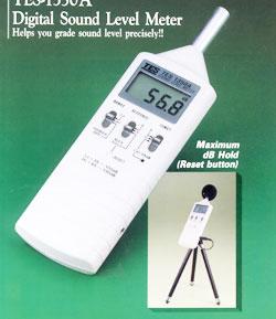 昆明数字式噪音计声级计TES-1350A