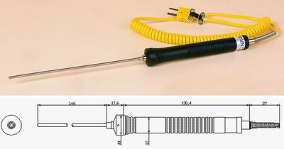 K型温度传感器/表面/液体热电偶/探头