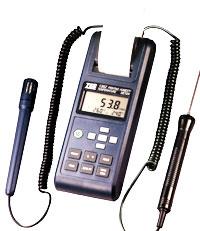 列表式温湿度计TES-1362