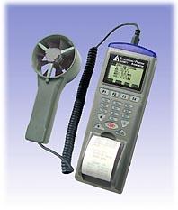 列表式风速/风温/风量/湿度/露点仪印表机AZ9871