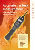多用途气体泄漏探测仪GasCheck 3000 (氦气和安全气体)