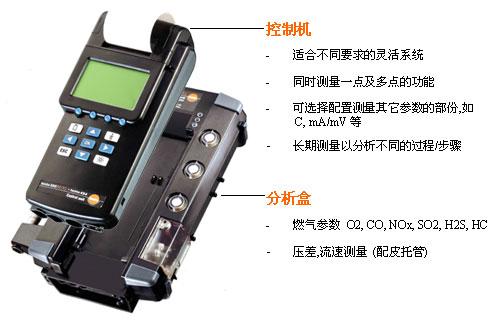 [烟气分析仪]烟气分析仪350 M/XL