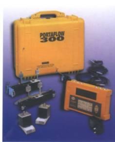 真正的便携式超声波流量计PF300