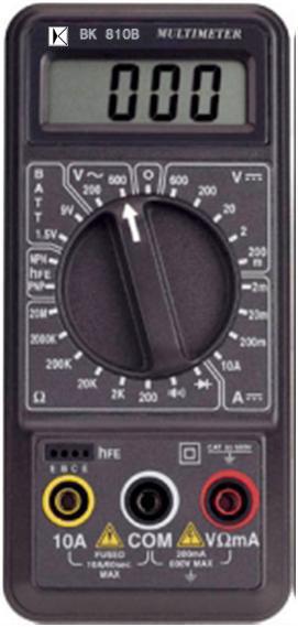 3½位多功能电表BK810B