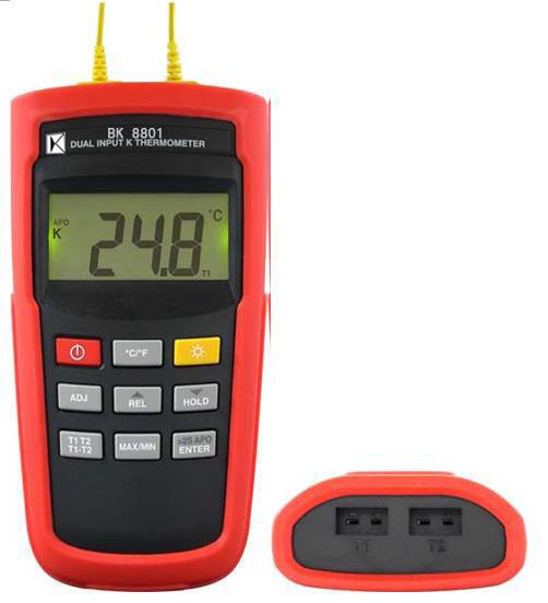 K型温度计(双组输入) BK8801