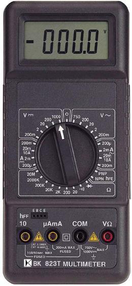 4½位真有效值数位多用电表BK823T