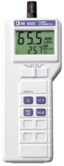 数位式温度/湿度/湿球/露点量测计BK8322