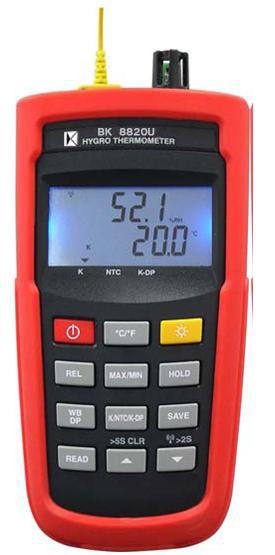 [温湿度表]温湿度计BK8820W (无线传收)