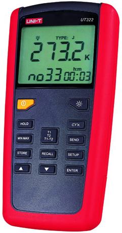 UT320系列(专业型数字测温表)UT-322