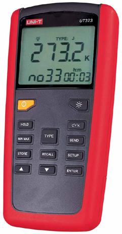 UT320系列(专业型数字测温表)UT-323