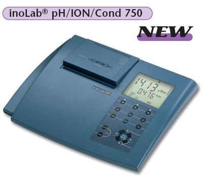 实验室pH计inoLab pH/ION/Cond 750