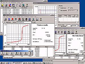 Windows下的滴定仪软件AT-Win