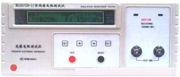 绝缘电阻测试仪MS2675D-Ⅱ