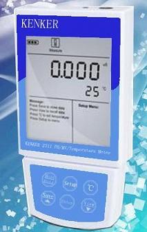 便携式PH/MV/温度测定仪Kenker 2311