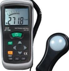 带RS-232接口照度计DT-1309