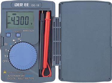 口袋型万用电錶DE-18