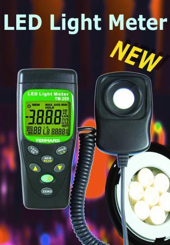 数字LED照度计TM-209