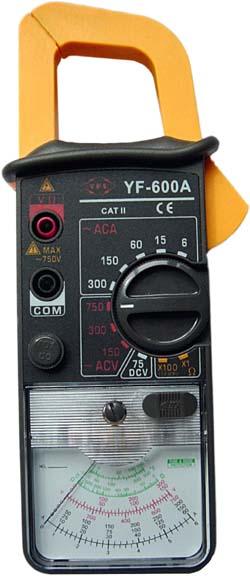 AC指针式钳表YF-600