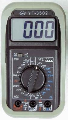 数位三用电表YF-3502