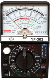 [万用表]指针式万用表YF-303