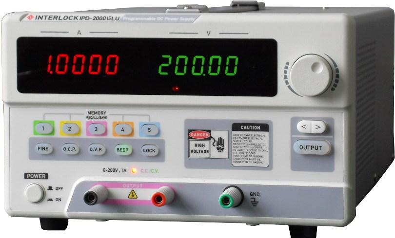 可编程直流电源InterlockIPD-20001SLU