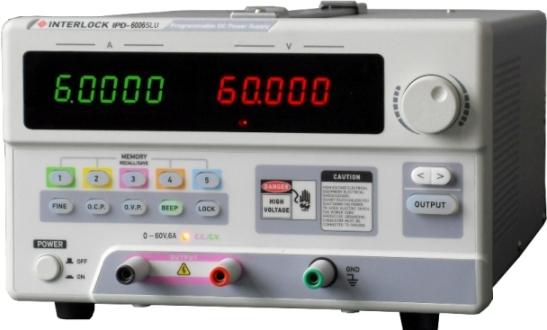 可编程直流电源Interlock IPD-6006SLU