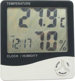 电子温湿度计