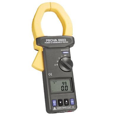 交流電力及諧波鉤表PROVA 6603/6605
