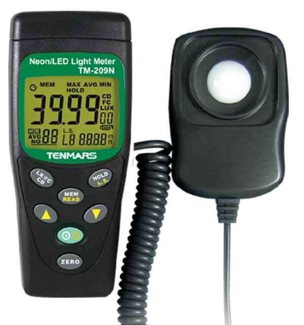 LUX/FC LED照度表TM-209N