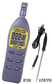 温度/湿度/露点/湿球温度计AZ-8706