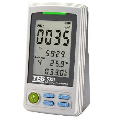 PM2.5空氣品質監測計TES-5322
