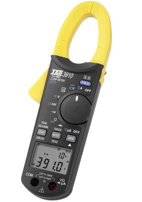 真有效值交直流鉤錶(DC/AC 1000A)TES-3910