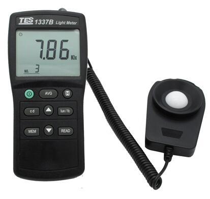 照度計(光強度)TES-1337B