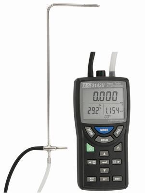 皮托管風速計&差壓計TES-3142/TES-3142U